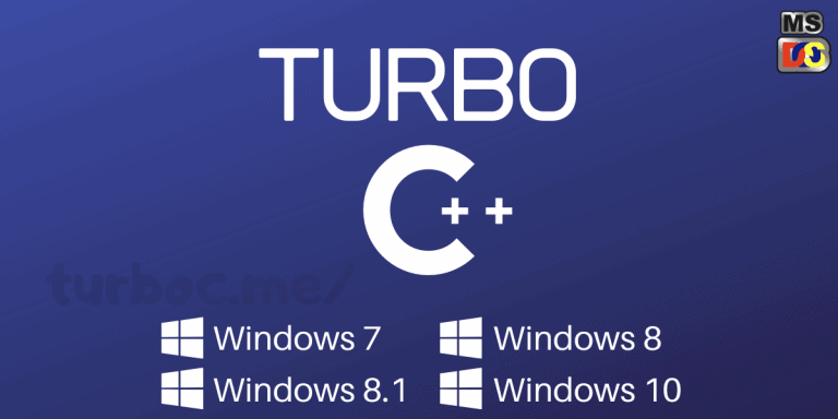 Download turbo c++ Application